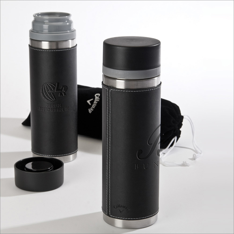 25 oz. Callaway Cylindrical Stainless Thermal Bottle
