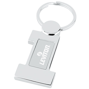 #1 Metal Key Tag