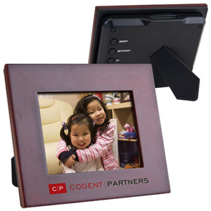 "3.5"" Wooden Digital Frame"