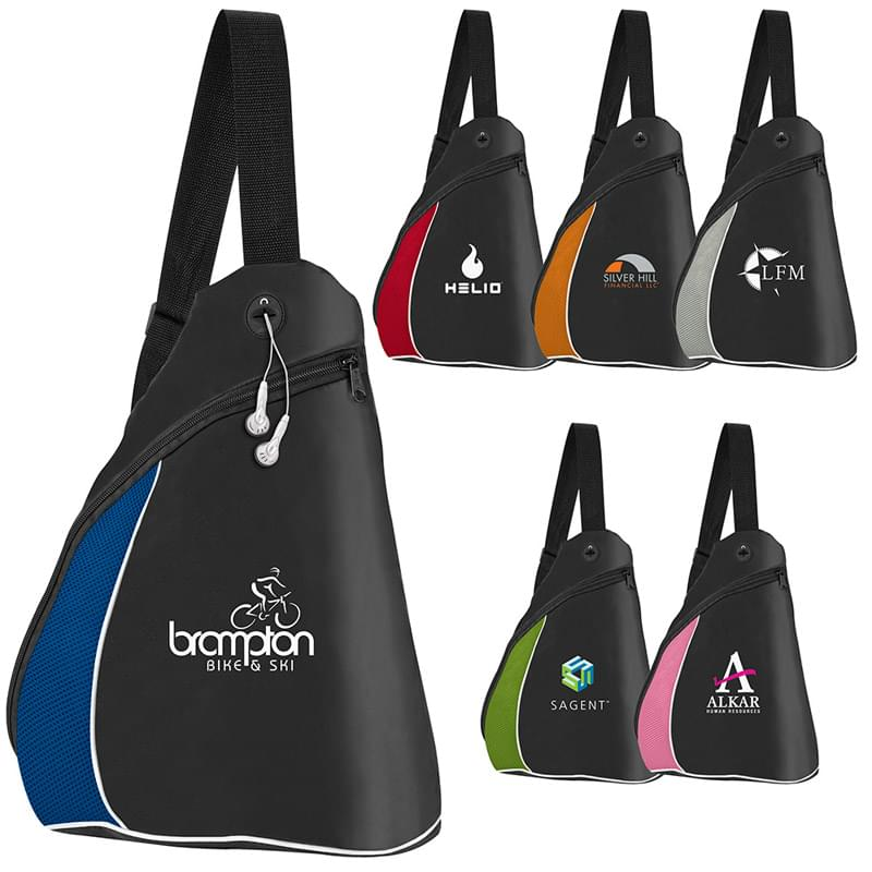 Color Splash Side Sling Pack