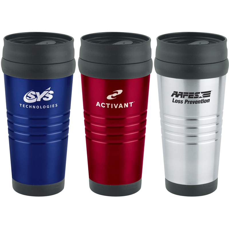 16 oz. Ruled Stainless Tumbler