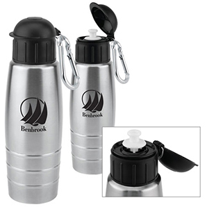 24 oz. Single Wall Stainless Sports Bottle