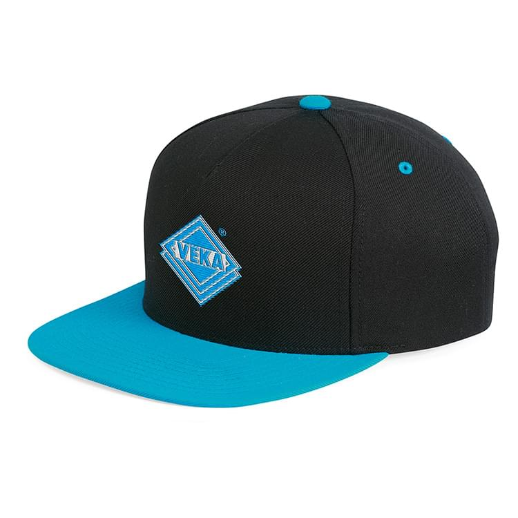 Yupoong 5-panel Wool Blend Snapback