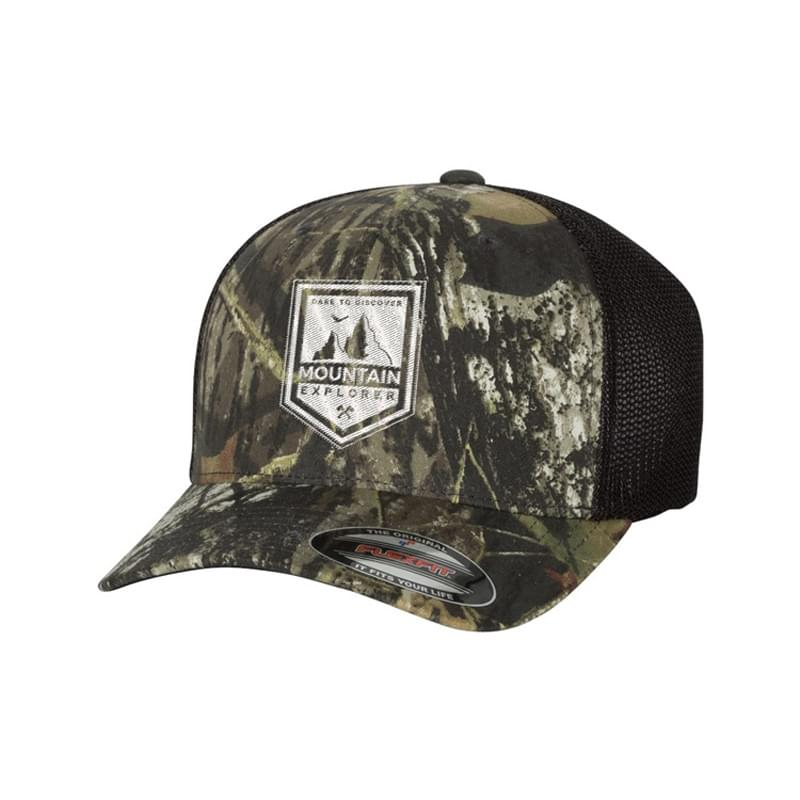 Flexfit Mossy Oak Stretch Mesh Cap