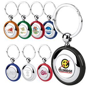 Acrylic Circle Color Key Tag