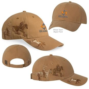 Dri Duck Team Roping Cap