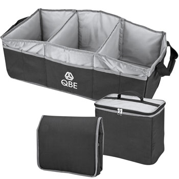 Collapsible 2-in-2 Trunk Organizer/Cooler