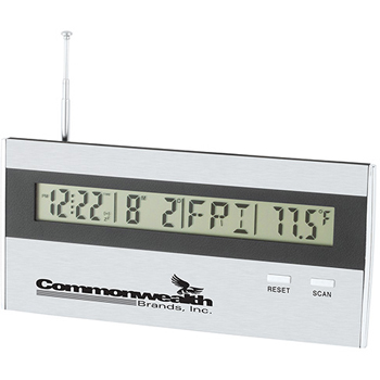 FLAT PANEL RADIO / DESK CLOCK
