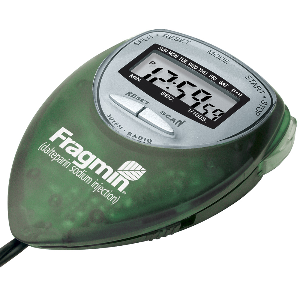 Aerodynamic FM Radio/Stopwatch