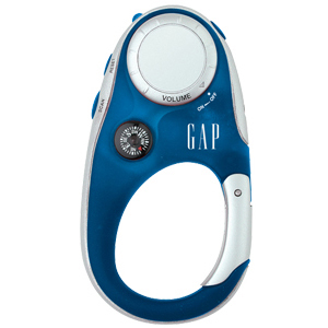 Clip-n-Go FM Radio with Compass
