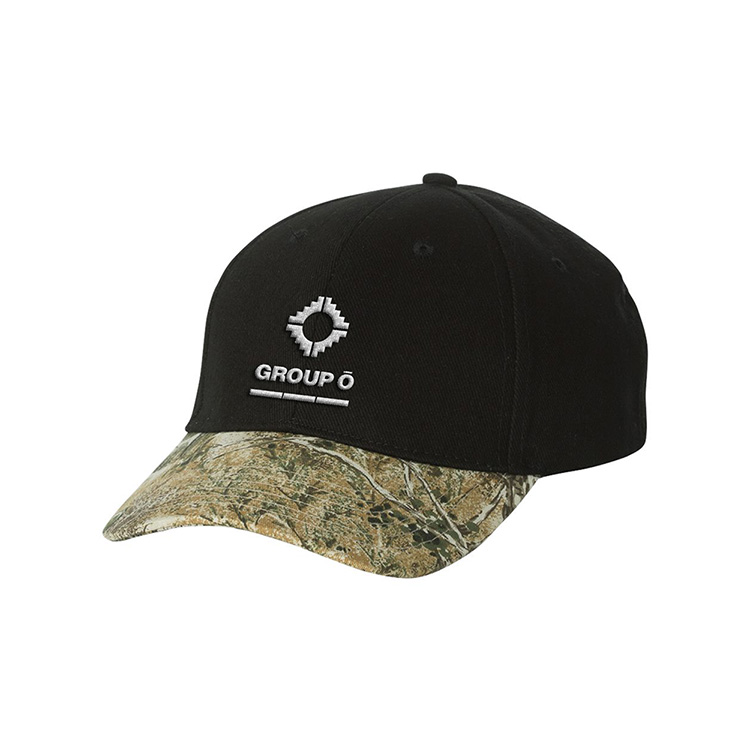 Kati Structured Solid Crown Camoflouge Cap