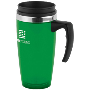 16 OZ Translucent Travel Mug