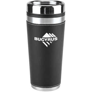 16 oz Leatherette Tumbler