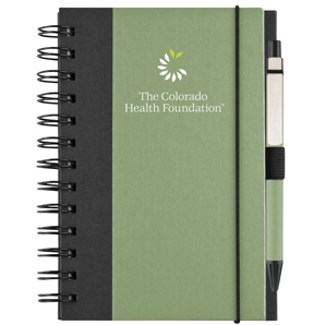 Recycled Color Cover Spiral Notebook