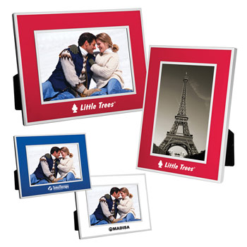 "4"" x 6"" Chrome Border Picture Frame"