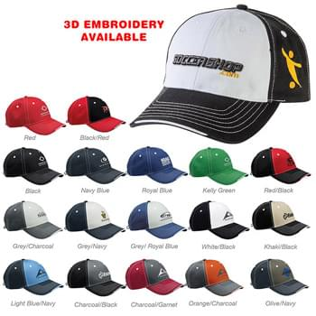 SPORTSMAN TRI-COLOR CAP