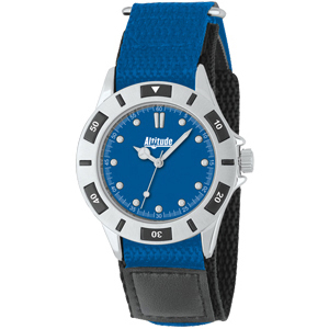 Canvas Comfort Diver Style Unisex Watch