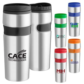 14 oz. Easy Grip Stainless Travel Tumbler