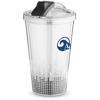 Soundwave Straw Tumbler