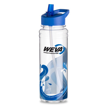 25 oz. Clear Wave Water Bottle