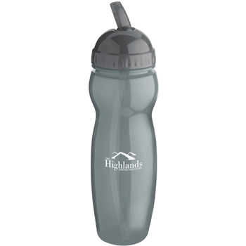 22oz Translucent Water Bottle