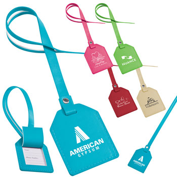 Small-n-Smart Leatherette Bag Tag