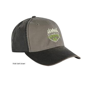 Dri Duck Field Colorblock Waxy Back Cap