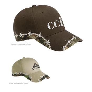 Outdoor Cap Barbed Wire Camo Cap