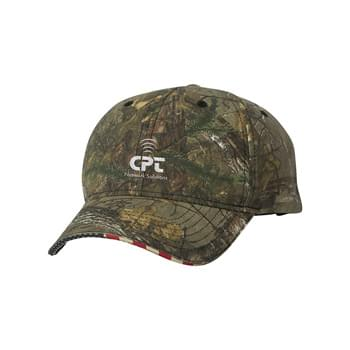 Outdoor Cap Flag Camo Cap
