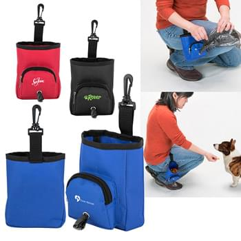 2-in-1 Treat Bag/Poop Bag Dispenser