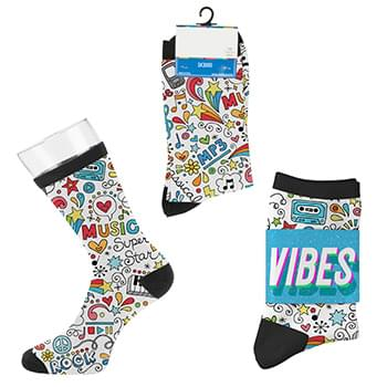 Custom Tall Sport Style Socks - Digital Sublimation