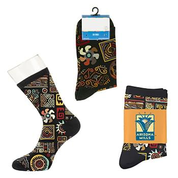 Custom Dress Socks - Digital Sublimation