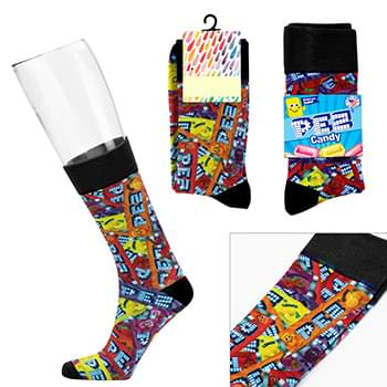 Custom Crew Sock - Digital Sublimation