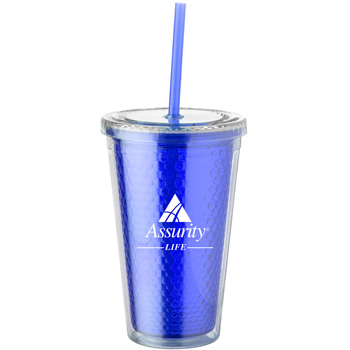 16 oz. Honeycomb Cup Tumbler