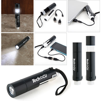 Canyons 2200 mAh Powerbank/Flashlight